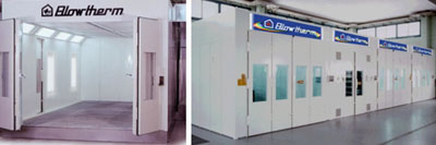 Please Select Your Spray Booth Model