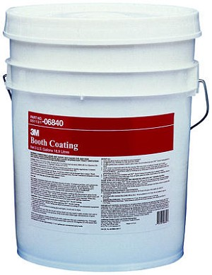 Booth Coat White Peelable - 5 Gallon