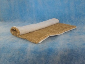 "32"" x 21"" Poly Back Paper Paint Arrestor Roll - 2 Pack"