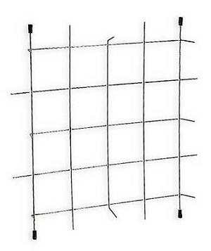 20 x 20 paint arrestor holding grid 20 pack for Paint booth filters 20x20