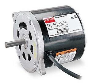 Oil burner motor 1 4hp 115v for Oil furnace motor cost